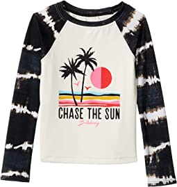 Washed Out Long Sleeve Rashguard (Little Kids/Big Kids)