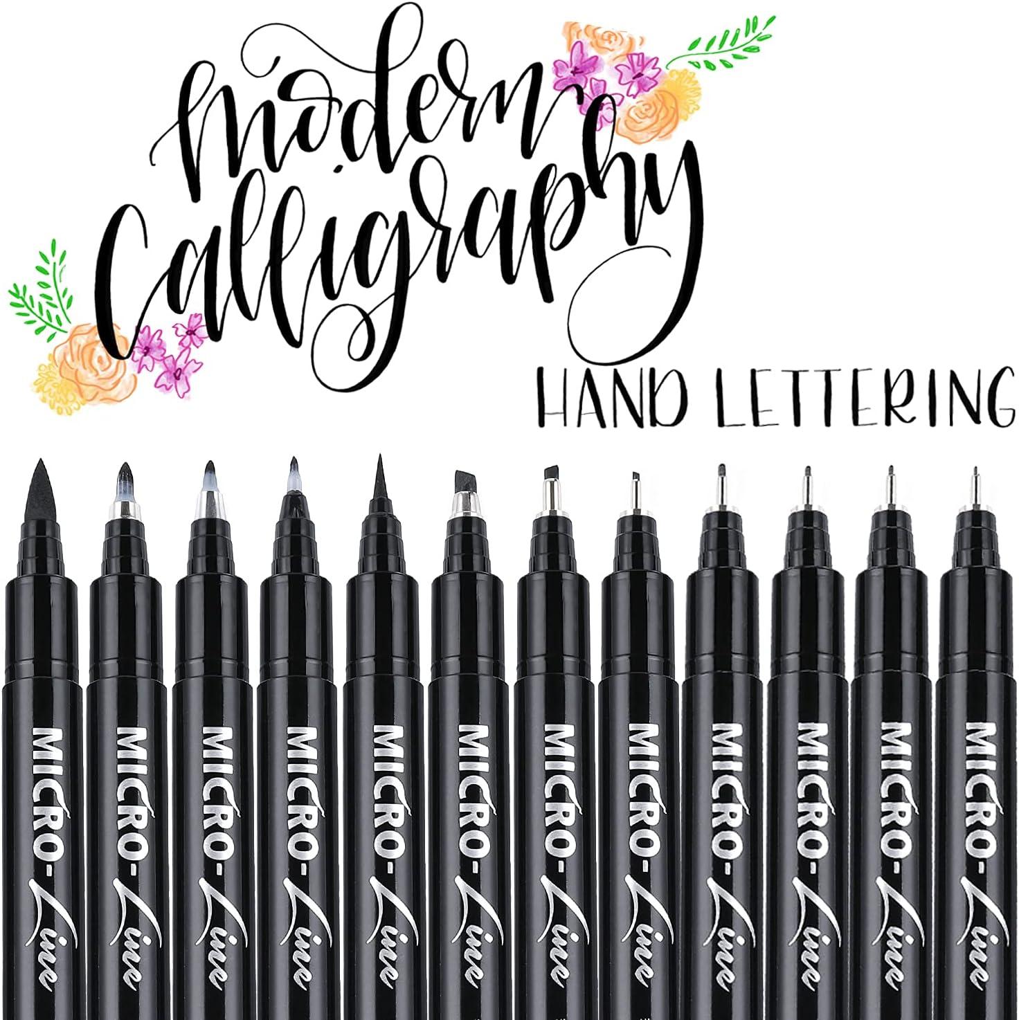 Calligraphy Hand Lettering Brush Pens
