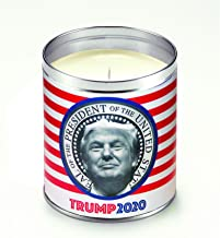 product image for Aunt Sadies Donald Trump 2020 Presidential Candidate Candle, Red/White/Blue