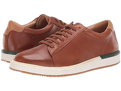 Hush Puppies Heath Sneaker (Cognac Leather) Men
