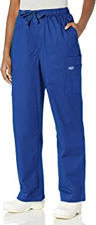 Cherokee Men's Big and Tall Ww Core Stretch Drawstring Cargo Scrub Pant