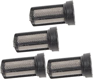 Milwaukee M4910-20 & M4910-21 Paint Sprayer (4 Pack) Replacement Spray Gun Filter # 039748001099-4pk