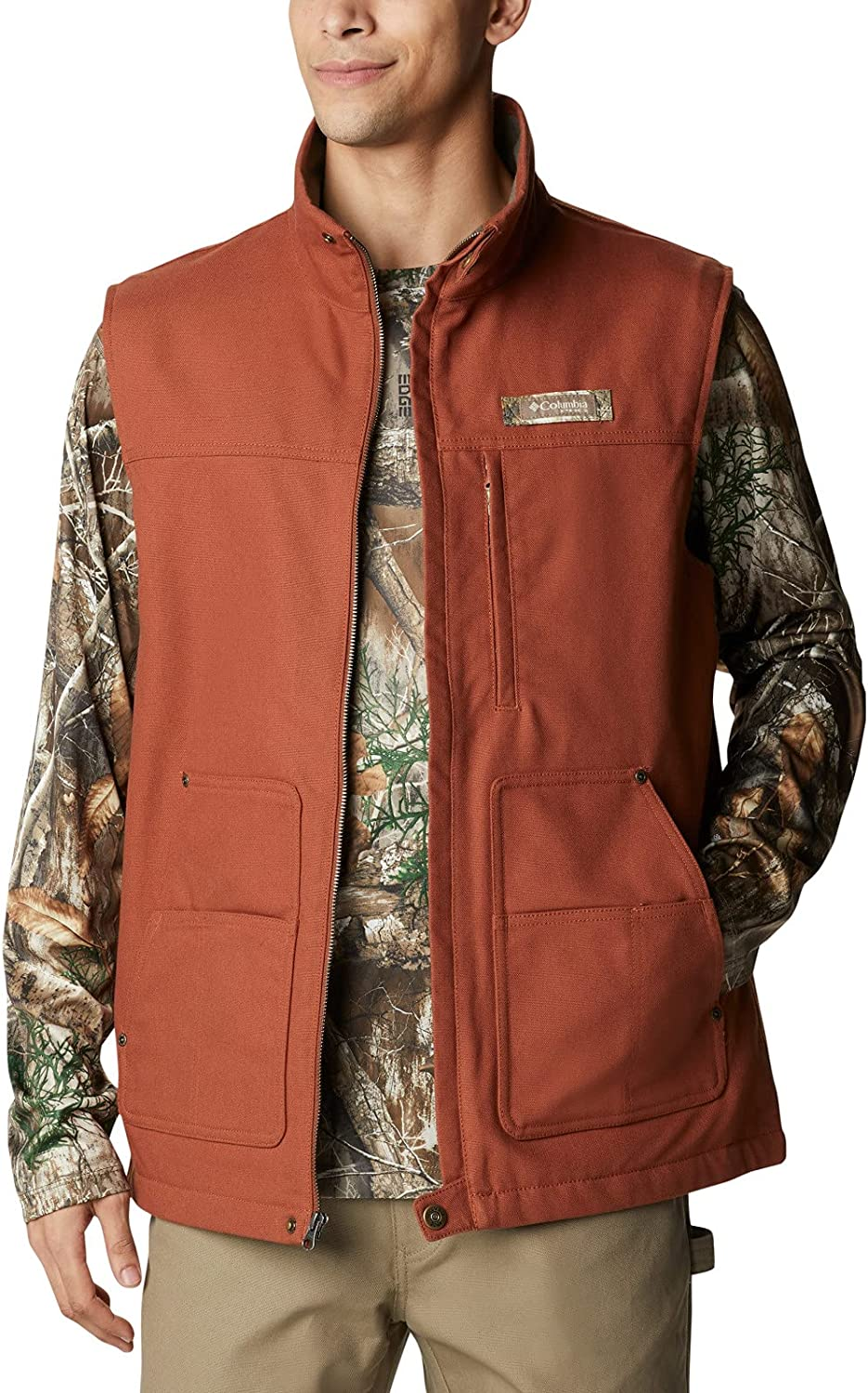 Columbia Mens Roughtail Work Indefinitely Vest Very popular!