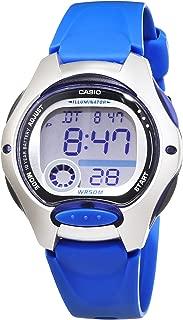Casio Womens Quartz Watch, Digital Display and Resin Strap LW-200-2A