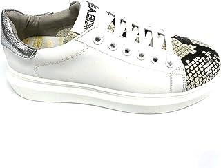 Keys Sneaker Scarpa Donna K-402 Ecopelle Soletta Pelle