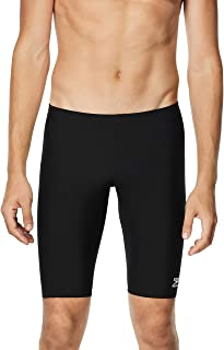 Speedo International Unlimited Men's Endurance+ Polyester Jammer Swimsuit