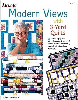 Fabric Cafe Fabric Café Modern View 3 Yard Quilts Bk, Pest Repeller v.210