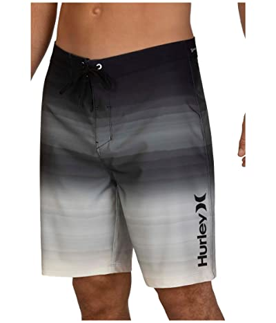 Hurley 20 Phantom Spray Blend Boardshorts (Black) Men