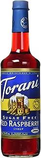 Torani Sugar Free Raspberry Syrup (750 mL /25.4 oz)