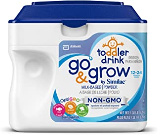 Similac雅培Go&Grow非转**幼儿* 1.38 LB (Milk Based) 1.38 lb 8.28