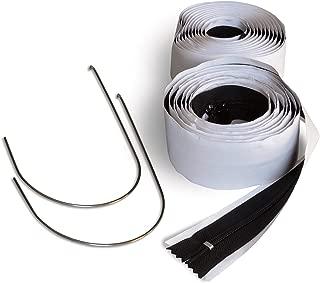 ZipWall 2-Pack Standard Zipper for Dust Barriers, AZ2