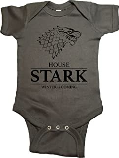 House Stark Winter is Coming Baby Game of Thrones One Piece