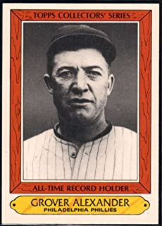 Baseball MLB 1985 Woolworth Topps Collectors' Series #2 Grover Cleveland Alexander Phillies