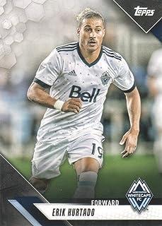 2019 Topps MLS Soccer #136 Erik Hurtado Vancouver Whitecaps FC
