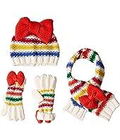 Stripe Beanie Knit Set (Toddler/Little Kids)