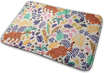 """Trendy Tropical Doormat Non Slip Indoor/Outdoor Door Mat Floor Mat Home Decor, Entrance Rug Rubber Backing Large 23.6""""(L) x 15.8""""(W)"""
