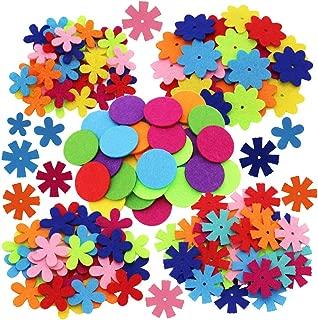 Best felt flower shapes Reviews