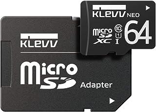 ESSENCORE KLEVV microSDXC 64GB UHS-1 U1 Class10 / 永久保証 / SD変換アダプター付属 U064GUC1U18-DK-JP