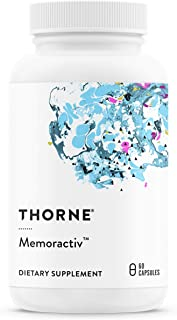 Thorne Research - Memoractiv - Botanicals and Nutrients for Cognitive Function and Mental Focus - Ashwaganda, Acetyl-L-Car...