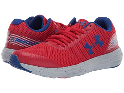 Under Armour Kids UA BGS Surge Running (Big Kid) (Red/Mod Gray/Royal) Boys Shoes