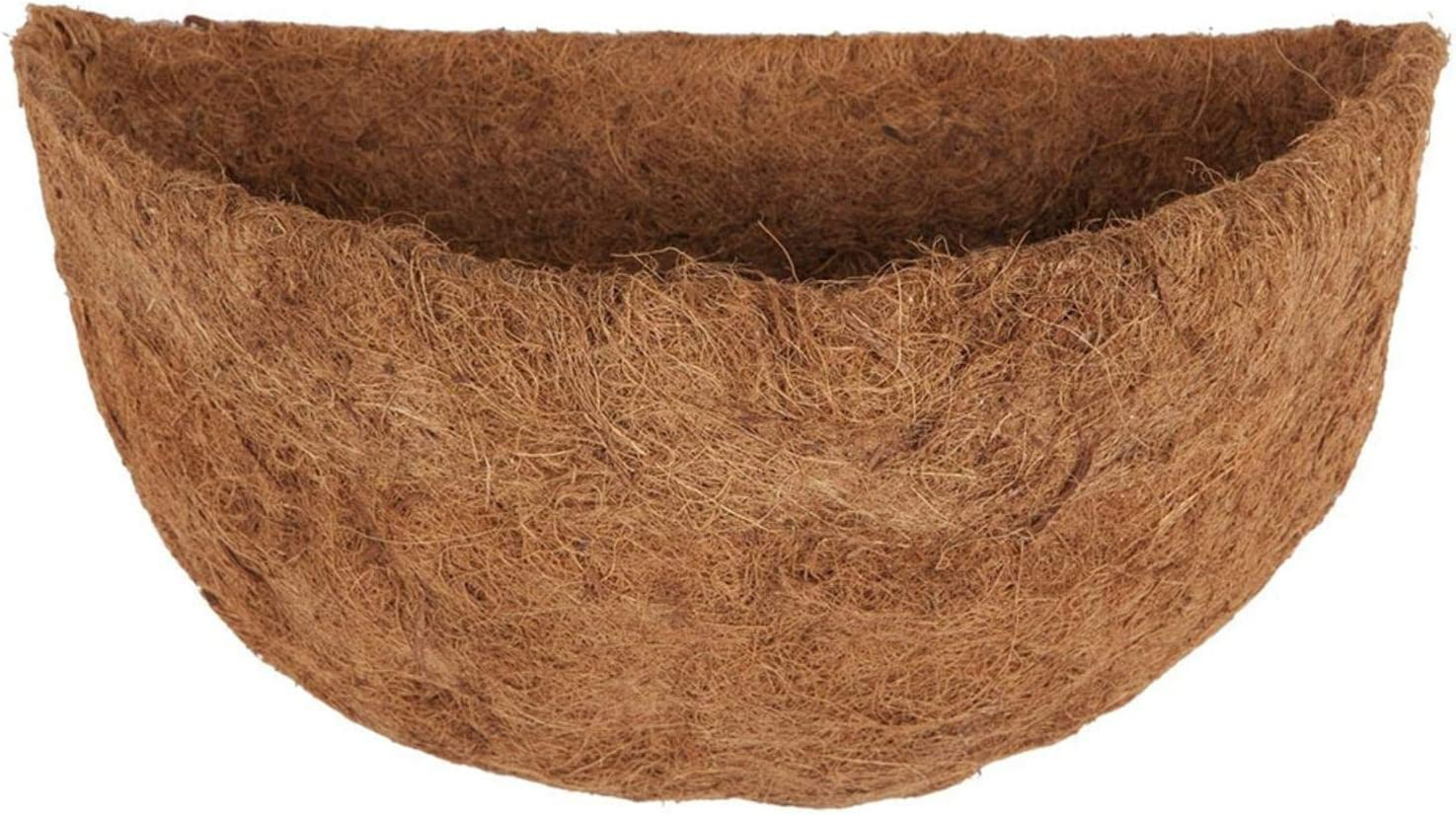 Half Circle Wall Planter Coco Fiber for Replacement New Free Popular overseas Shipping Liners