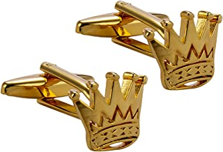 king crown cufflinks