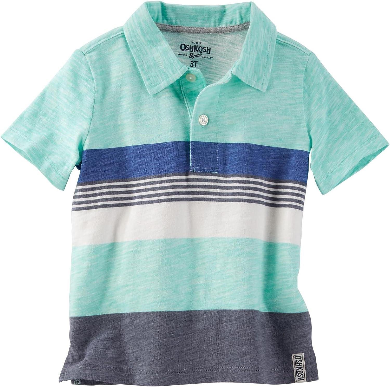 OshKosh B'Gosh Boys' Knit Polo Henley 31988011