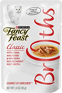 Purina Fancy Feast Classic With Tuna Anchovies & Whitefish Cat Food - (32) 1.4 Oz. Pouch