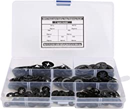 Arruela Starlock, Dente interno de isolamento Starlock, Kit de gaxeta 280 unidades para a indústria de processamento de má...