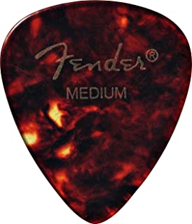 Fender 351 Shape Classic Picks (12 Pack) for electric guitar, acoustic guitar, mandolin, and bass