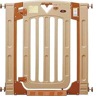 日本育児 ベビーゲート/ペットゲート スマートゲイト II 6ヶ月~24ヶ月対象 扉開閉式の突っ張りゲート 幅木よけつき