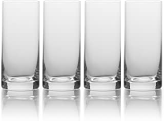 Mikasa 5193454 16.75 oz, Clear Julie Highball Drinking Glass, 16.75-Ounce, Set of 4
