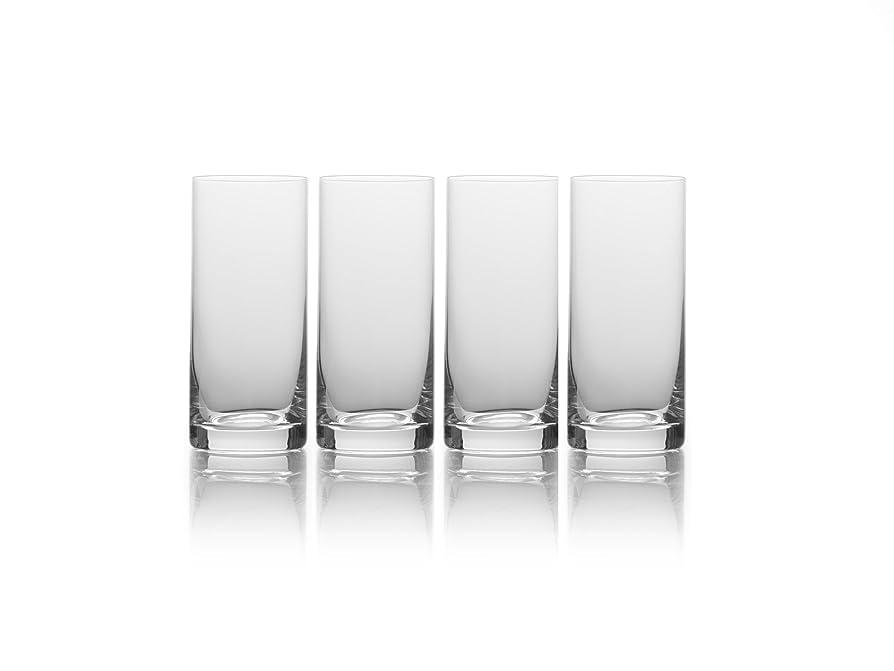 大通り作詞家寄生虫Mikasa Julie Highball Drinking Glass (Set of 4), 500ml, Clear