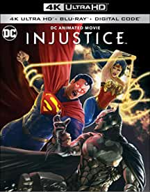 DC Animated Movie INJUSTICE arrives on 4K, Blu-ray and Digital October 19 from Warner Bros.