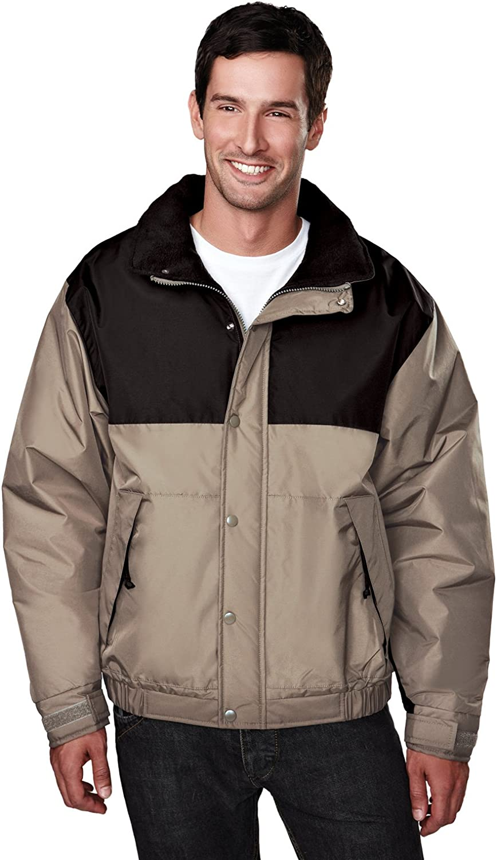 Tri-Mountain Windproof Winter Jacket w/Heavyweight Toughlan Nylon. 8980