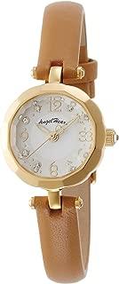 [エンジェルハート] 腕時計 Brilliant Flower ホワイト文字盤 スワロフスキー BF21Y-BW ブラウン