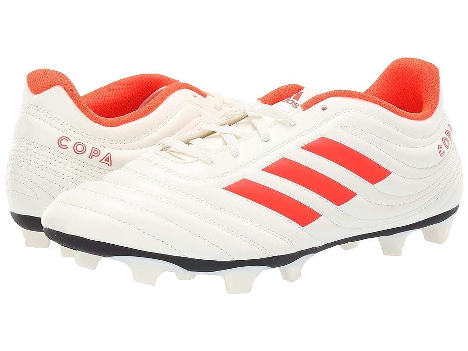 adidas Copa 19.4 FG (Off-White/Solar Red/Off-White) Men