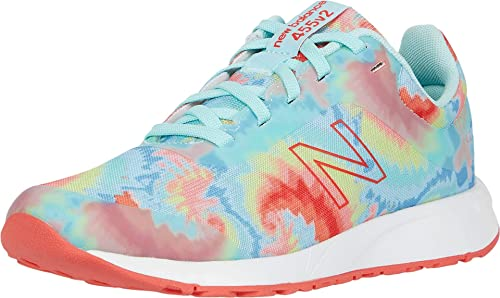 New Balance Kids' 455 V2 Lace-up Running Shoe