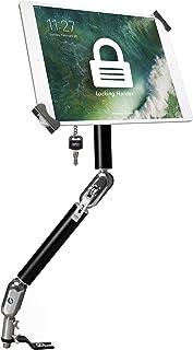 "CTA Digital: Multi-Flex Security, No-Drill Vehicle Mount for 7-14"" Tablets, iPad 10.2-Inch (7th Gen.), iPad Air 3, 12.9-Inch iPad Pro, iPad Gen 6, Galaxy Tab S3 & More, Black"