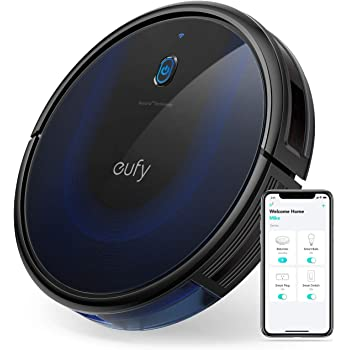 eufy by Anker [BoostIQ] RoboVac 15C MAX - Robot aspirateur avec Wi-Fi, application Android/iOS, Amazon Alexa, puissance de 2000Pa, filtre lavable, ultra-fin et silencieux pour sols durs et moquettes