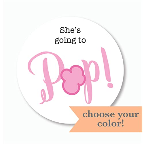image about Ready to Pop Free Printable titled Prepared towards Pop Little one Shower: