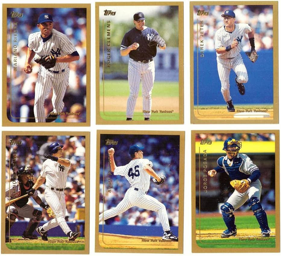 1999 Topps - NEW YORK YANKEES Card 19 famous Team Set Max 79% OFF