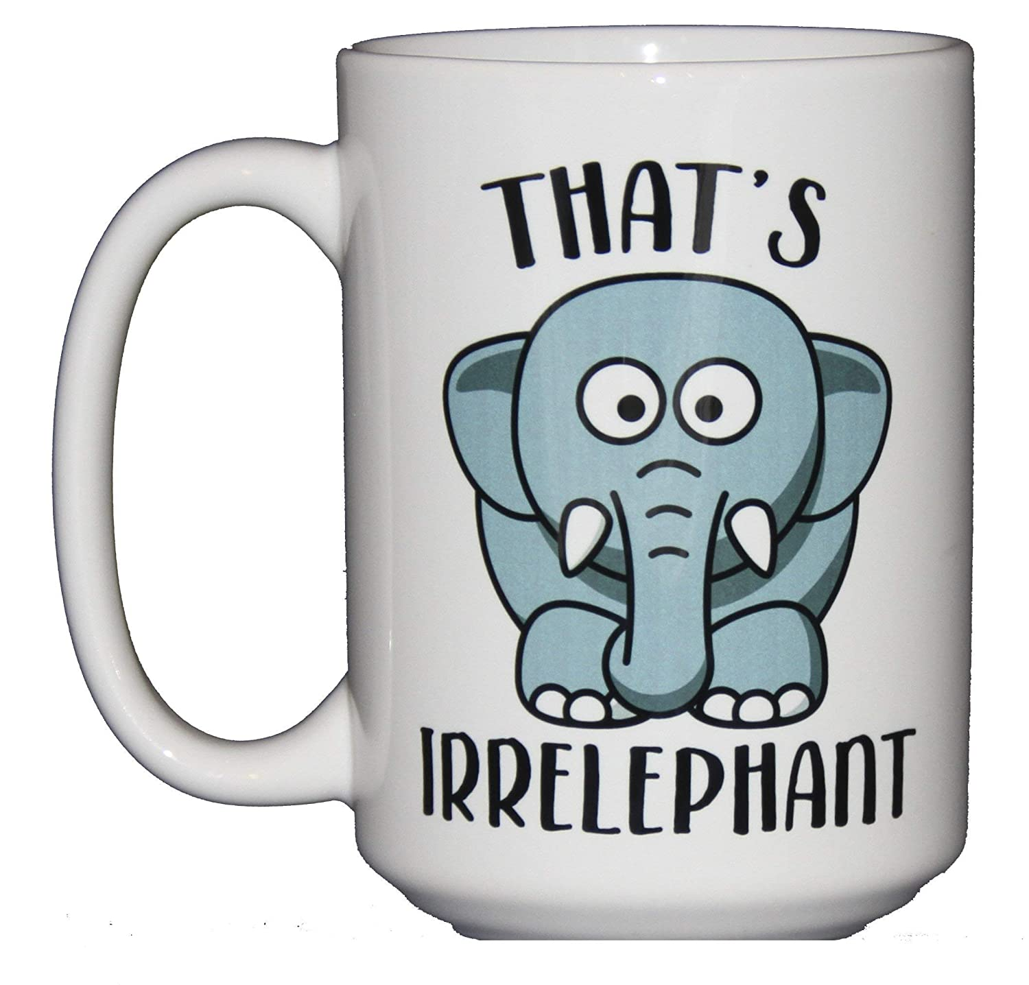 Funny Coffee Mugs for Word Tampa Mall Nerd Elephant Grammar Police Cup Sale special price -