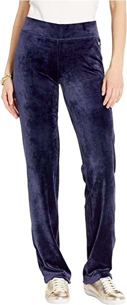 3e342ab66d4c85 Lilly pulitzer jordynne velour pants, Clothing | Shipped Free at Zappos