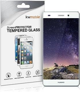 kwmobile Pellicola protettiva compatibile con Huawei P8 Lite (2015) - Protezione schermo in vetro senza bolle d'aria