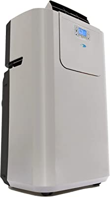 Whynter Elite ARC-122DS 12,000 BTU Dual Hose Portable Air Conditioner, Dehumidifier, Fan with Activated Carbon Filter plus Storage bag for Rooms up to 400 sq ft (Renewed)