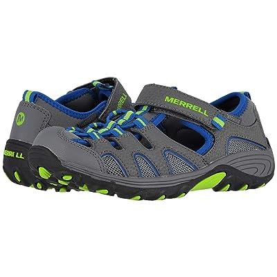 Merrell Kids Hydro H2O Hiker Sandals (Toddler/Little Kid) (Grey/Turquoise) Girl