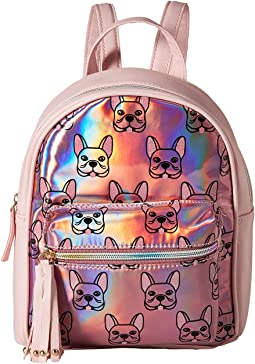 Little Louie Holo Printed Backpack