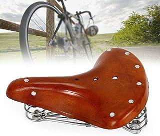 Sättel Vintage Fahrradsattel Fahrrad Ledersattel Echtleder Sattel Sitz bigtop!