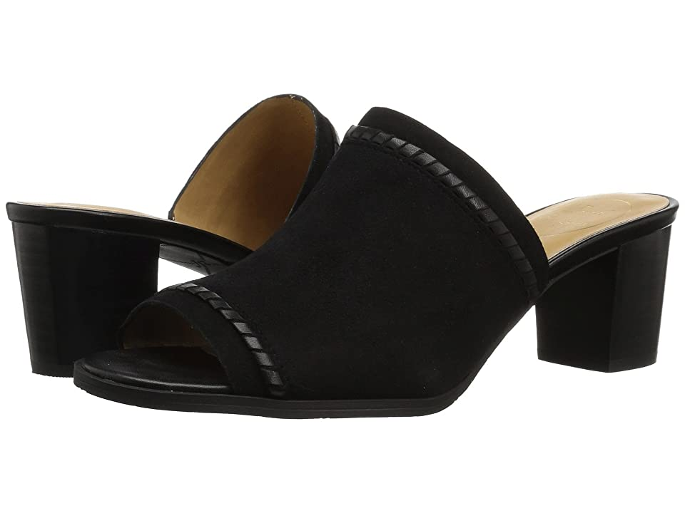 Jack Rogers Campbell (Black Suede) Women
